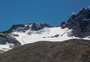 Blick zurück zum Gletscher