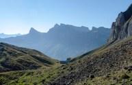 Alp Obere Träsmeren und im Hintergrund der Chaiserstock 2515 m)