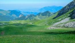 Rückblick ab Stafel (Skilift Bergstation)