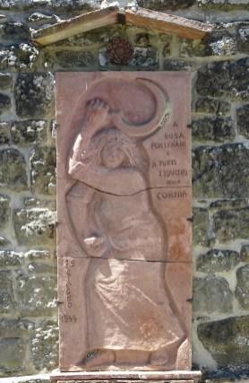 Cornia - in Erinnerung an die Märtyrer der Kriegsverbrechen von 1944