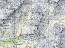 Die Route 2. Tag Keschhütte-Lai da Ravais-ch Chants