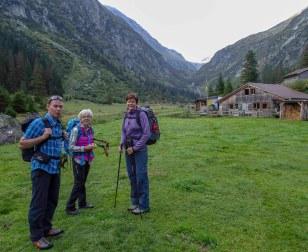 Start bei der Alp Vorder Waldi