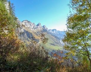 Typisches Churfirsten-Südseiten-Panorama