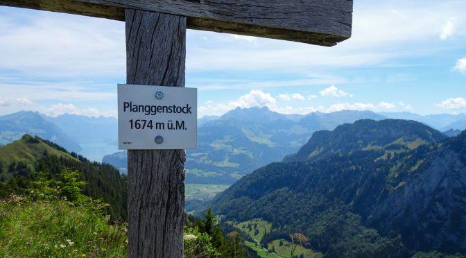 Planggenstock (1674 m), Hirzli (1639 m) und Niederurnertäli – (fast) ein Geheimtipp