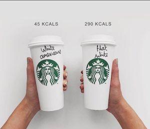 Flat white vs americano
