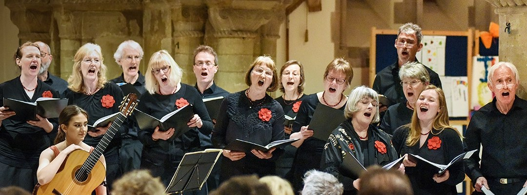 Do you have an alto, a 1st tenor or a 1st bass voice? Would you like to sing with us?