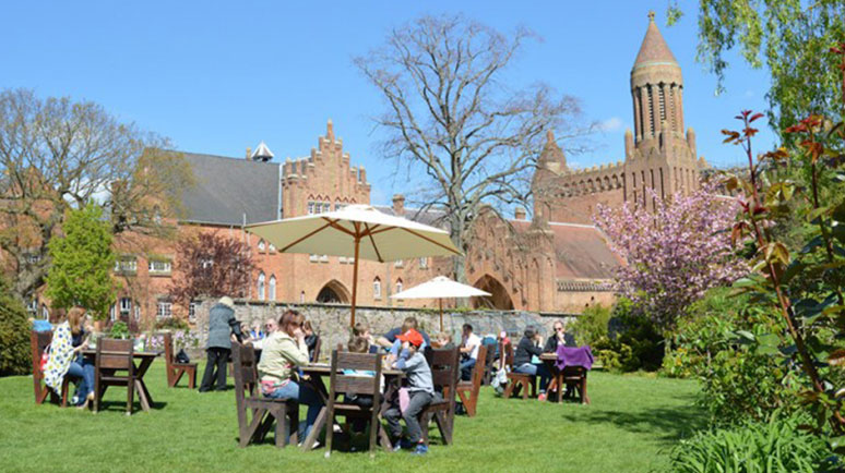 """The Choir is going """"overseas"""" – to Quarr Abbey on the Isle of Wight"""