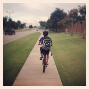 Ride Bike to school