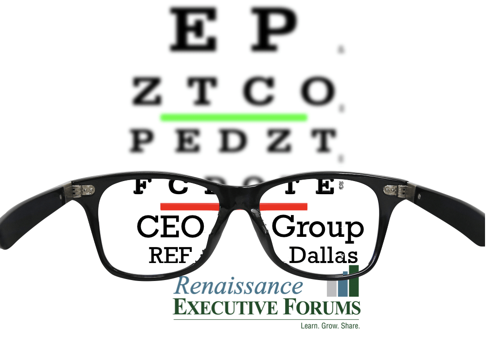 CEO Groups Help You See Clearly.