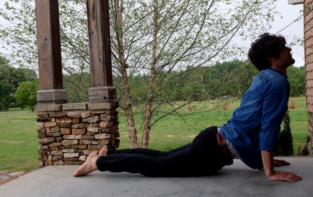 Yep that's right. Yoga in jeans!