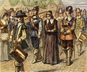 Mary Dyer Being Led