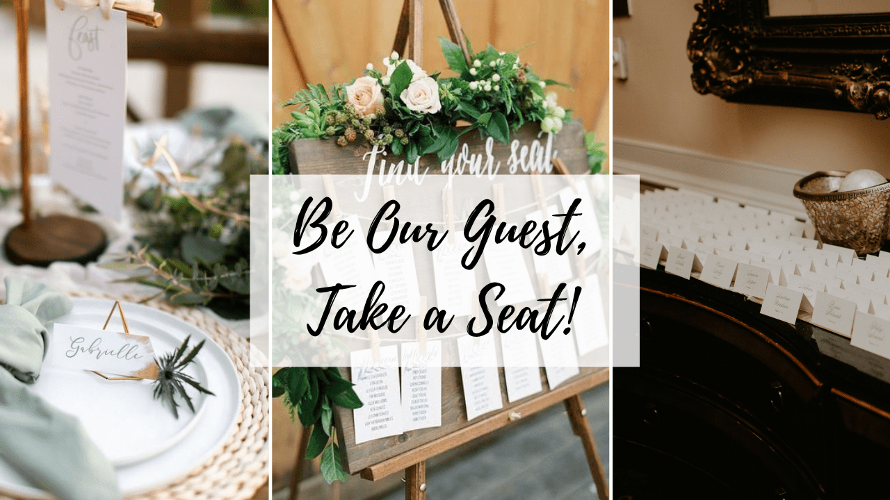 Be Our Guest, Take a Seat!