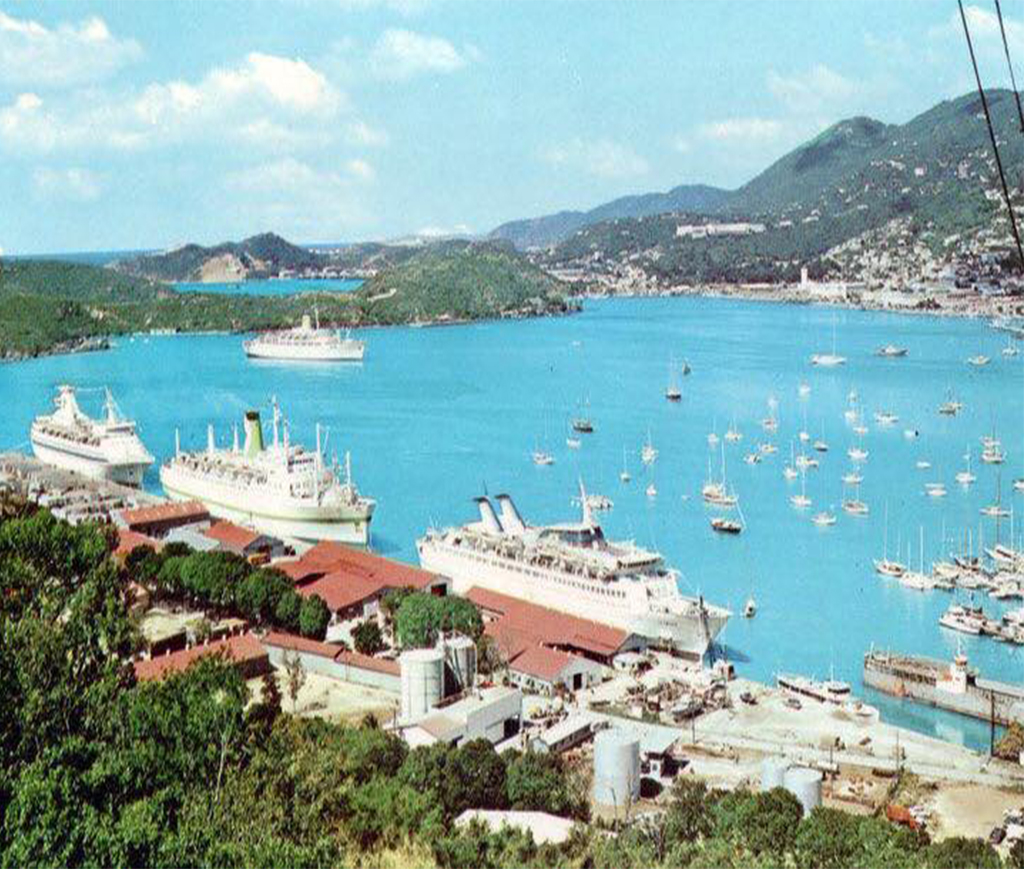 cruise ship guests st thomas