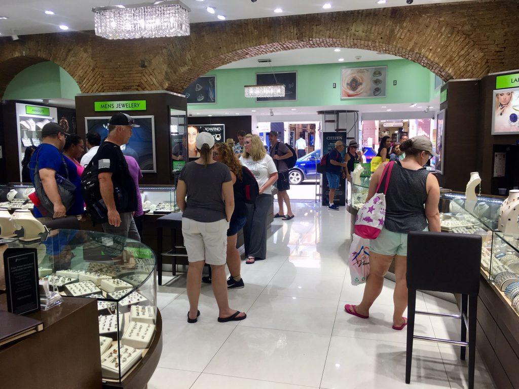 jewelry shopping st thomas