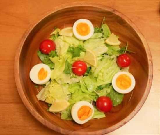 野菜多めの食事