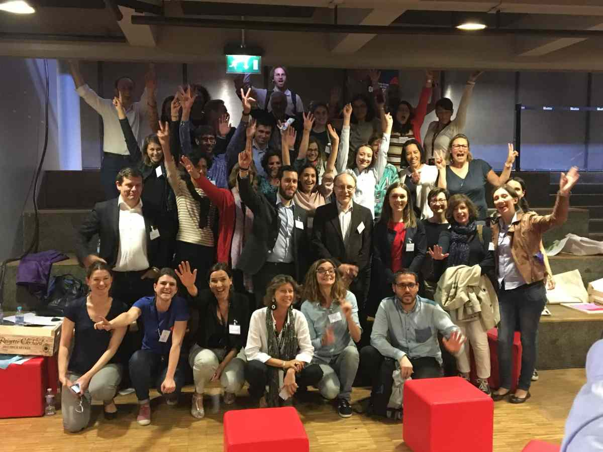 L'équipe Futur Lab La Villette 2017