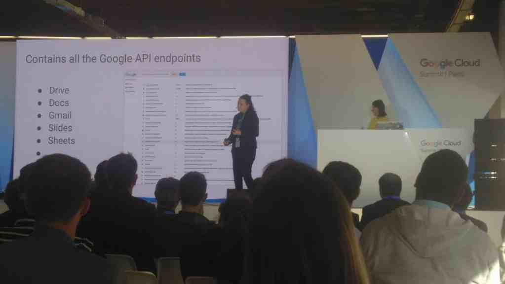 Paris 2017 Google Cloud Summit API conference