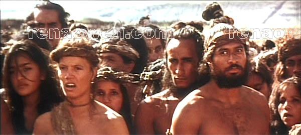 Hitirenga (Rena Owen) and the Short Ears tribe make their demands