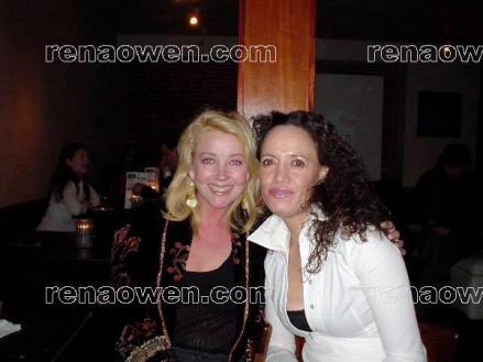 Rena and Freezerburn co-star, Melody Thomas