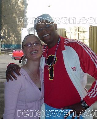 Rena and co-star Samuel L. Jackson