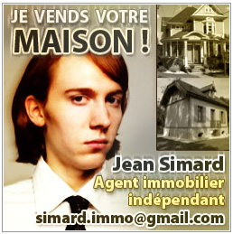 Jean Simard, agent immobilier