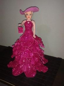 Rosa com chapéu
