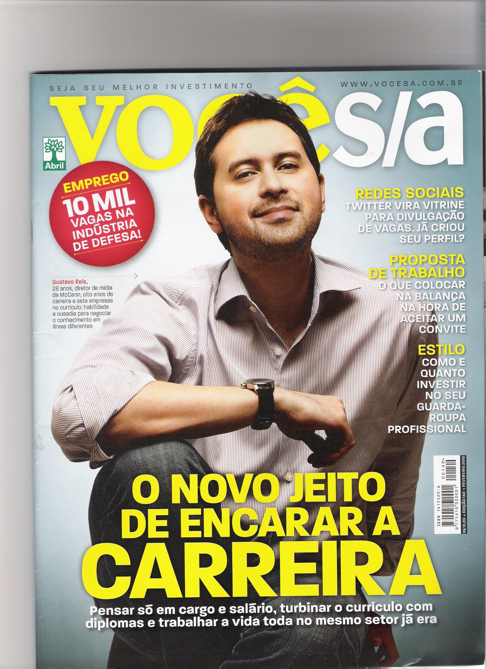 23/02/10 – Revista Você S/A