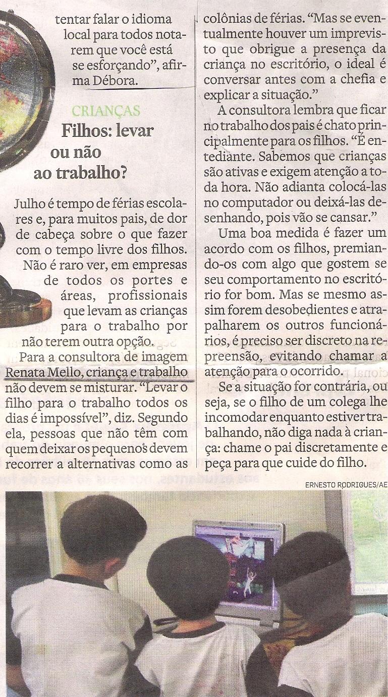 18/07/10- O Estado de S.Paulo
