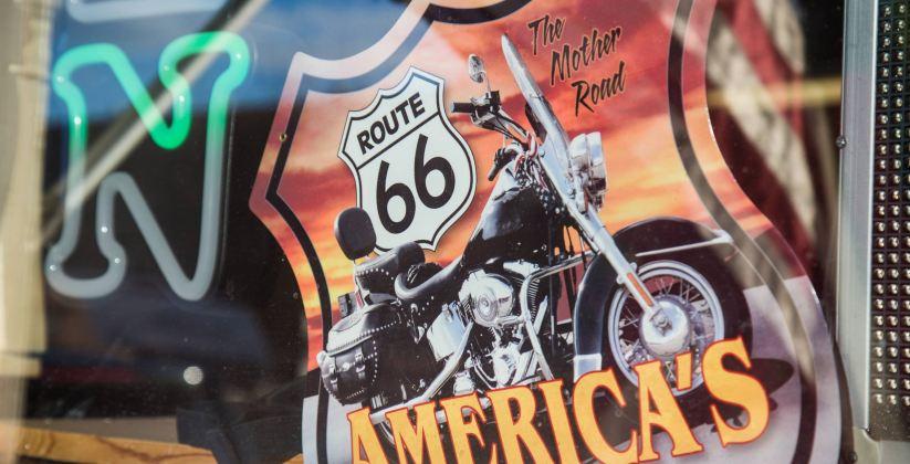 Rota 66 em Winslow, Arizona
