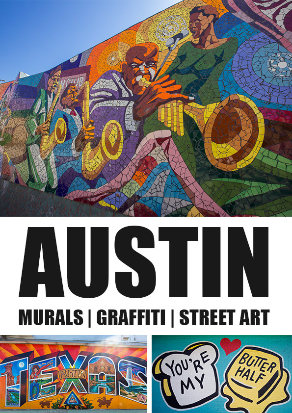 Street art and graffiti park: a must see when you travel to Austin, Texas