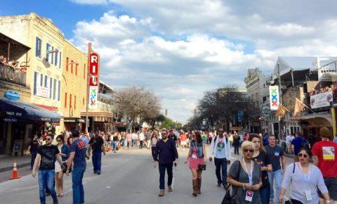 Austin, Texas, durante o South by Southwest