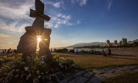 English Bay in Vancouver, Canada