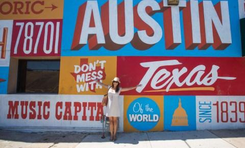 Grafite em Austin, no Texas