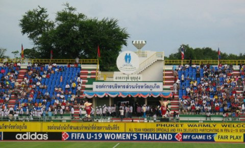 Phuket Stadium in Thailand