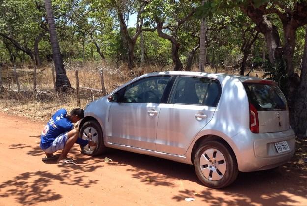 Driving to Jericoacoara