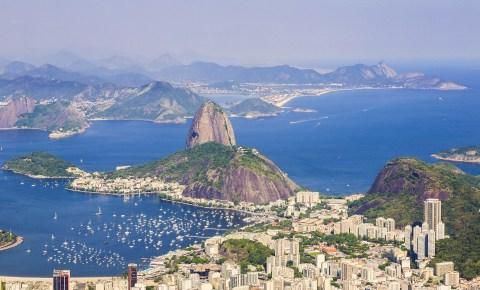 View of Sugar Loaf, in Rio de Janeiro, Brazil