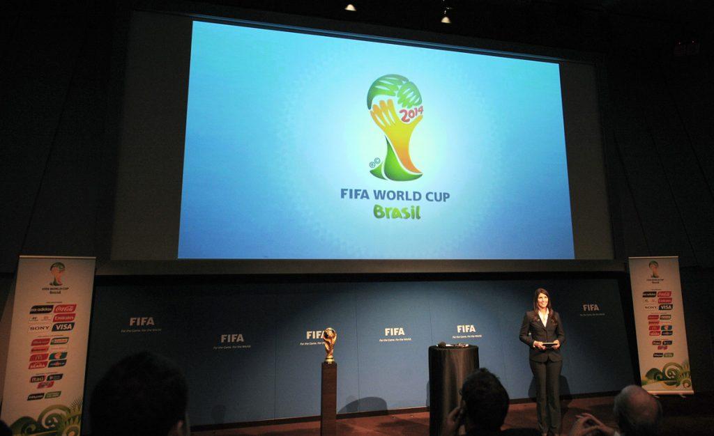 Anúncio da tabela da Copa 2014 na sede da FIFA | Renata Pereira