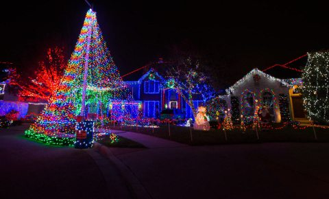 Christmas Lights in Austin, Texas