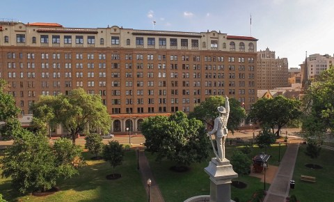 The St Anthony Hotel in San Antonio, Texas