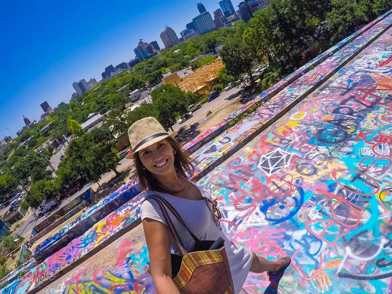 Hope Graffiti Park in Austin, Texas