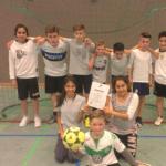 6a gewinnt den Renata-Fußball-Cup der 5. und 6. Klassen