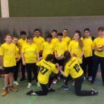 Unsere Volleyballer im Einsatz