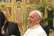 Lors de l'audience privée du Pape François aux membres de RENATE (7 novembre 2016).