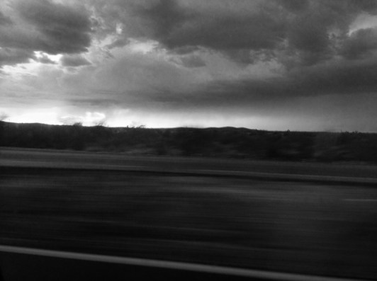 Highway Black and White