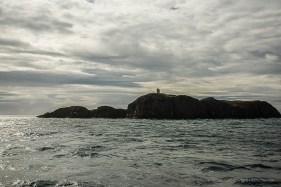 "Saying ""by"" to Flatey Island lighthouse. Nikon D810, 38 mm (24-120.0 mm ƒ/4) 1/100 sec ƒ/14 ISO 800"