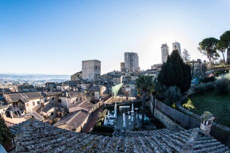 """San Gimignano, January 2017. Nikon D810, 16 mm ( 16.0 mm ƒ/2.8) 1/100"""" ƒ/8 ISO 125"""