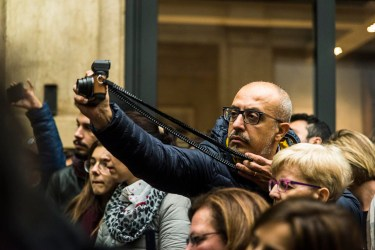 Leica camera turned catapult.