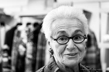 """Rosita, boss of Missoni. Sumirago, October 2017\ Nikon D810, 85 mm (24-120.0 mm ƒ/4) 1/125"""" ƒ/4 ISO 5000"""
