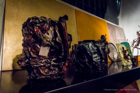 Alessandra Finzi, Algae Sculptures. Show-room Gobbetto, Milano Design Week 2018.