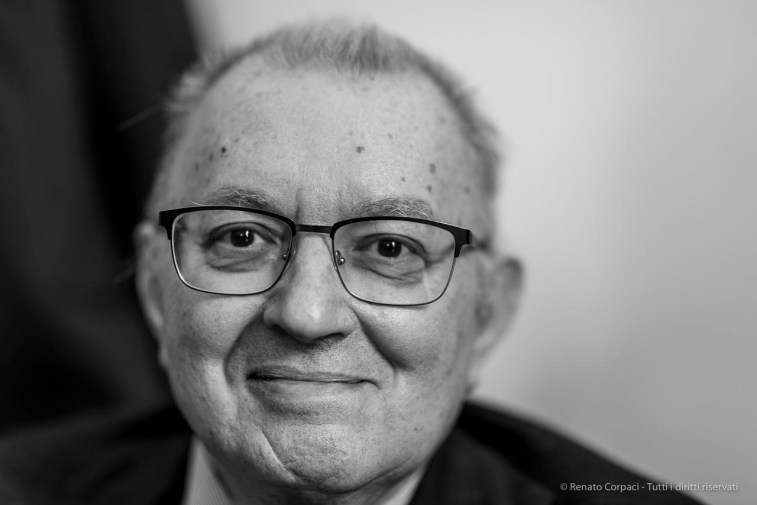 "Giorgio Squinzi, head of Mapei, formerly president Confindustria. May 2018. Nikon D810, 85 mm (85 mm ƒ/4) 1/125"" ƒ/1.4, ISO 160"